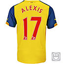 Puma Kids Alexis Arsenal Away Jersey 2014-15