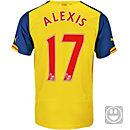 Puma Kids Alexis Arsenal Away Jersey 2014-15