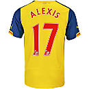 Puma Alexis Arsenal Away Jersey 2014-15