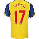 Puma Alexis Arsenal Away Jersey 2014-15