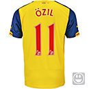 Puma Kids Ozil Arsenal Away Jersey 2014-15