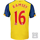 Puma Kids Ramsey Arsenal Away Jersey 2014-15