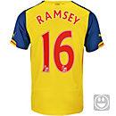 Puma Kids Ramsey Arsenal Away Jersey 2014-15