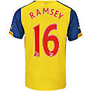 Puma Ramsey Arsenal Away Jersey 2014-15