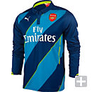 Puma Arsenal Long Sleeve 3rd Jersey 2014-15