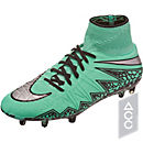 Nike Hypervenom Phantom II FG Soccer Cleats - Green Glow & Hyper Orange