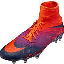 Nike Hypervenom Phatal II DF FG - Total Crimson & Vivid Purple