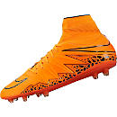 Nike Hypervenom Phatal II DF FG Soccer Cleats - Orange and Orange