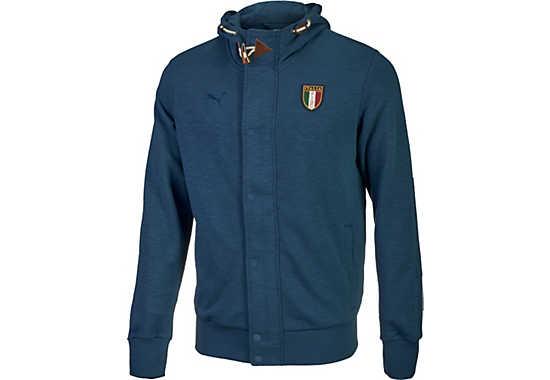 Italy Zipthrough Soccer Jackets