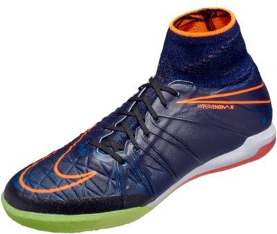 nike shox pas cher pour les enfants - Nike HypervenomX Proximo Street IC - Black Indoor Soccer Shoes