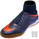 Nike Kids HypervenomX Proximo IC - Obsidian & Total Crimson