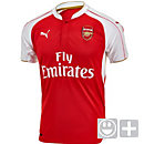 Puma Kids Arsenal Home Jersey 2015-2016