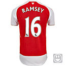 Puma Kids Aaron Ramsey Arsenal Home Jersey 2015-16
