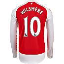 Puma Jack Wilshere Arsenal L/S Home Jersey 2015