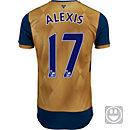 Puma Kids Alexis Sanchez Arsenal Away Jersey 2015-16