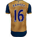 Puma Aaron Ramsey Arsenal Away Jersey 2015-16