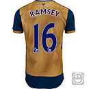 Puma Kids Aaron Ramsey Arsenal Away Jersey 2015-16