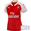 Puma Womens Arsenal Home Jersey 2015-2016