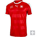 Puma Switzerland Home Jersey 2016