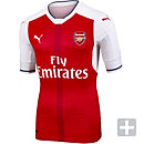 Puma Arsenal Authentic Home Jersey 2016-17