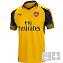 Puma Kids Arsenal Away Jersey 2016-17