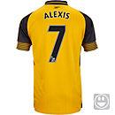 Puma Kids Alexis Sanchez Arsenal Away Jersey 2016-17