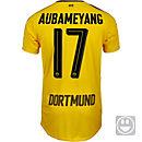 Puma Kids Aubameyang Borussia Dortmund Home Jersey 2016-17