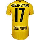Puma Aubameyang Borussia Dortmund Home Jersey 2016-17