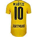 Puma Mario Gotze Borussia Dortmund Home Jersey 2016-17