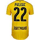 Puma Christian Pulisic Borussia Dortmund Home Jersey 2016-17