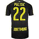 Puma Christian Pulisic Borussia Dortmund Away Jersey 2016-17