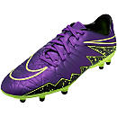 Nike Hypervenom Phelon II FG Soccer Cleats - Hyper Grape