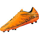 Nike Hypervenom Phelon II FG Soccer Cleats - Orange and Black