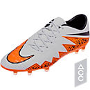 Nike Hypervenom Phinish FG Soccer Cleats - Grey and Black