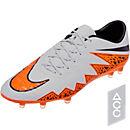 Nike Hypervenom Phinish FG Soccer Cleats - Grey and Black