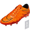 Nike Hypervenom Phinish FG Soccer Cleats - Orange and Black