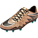 Nike Hypervenom Phinish FG Soccer Cleats - Metallic Red Bronze
