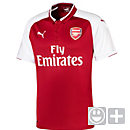Puma Kids Arsenal Home Jersey 2017-18