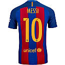 Nike Lionel Messi Barcelona Match Home Jersey 2016-17