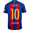 Nike Lionel Messi Barcelona Home Jersey 2016-17