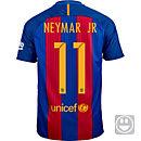 Nike Kids Neymar Barcelona Home Jersey 2016-17