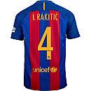 Nike Ivan Rakitic Barcelona Home Jersey 2016-17