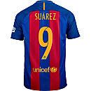 Nike Luis Suarez Barcelona Home Jersey 2016-17