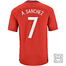 Nike Kids Alexis Sanchez Chile Home Jersey 2016-17