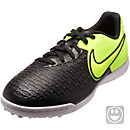 Nike Kids MagistaX Pro TF Turf Shoes - Black & Volt