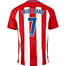 Nike Antoine Griezmann Atletico Madrid Home Jersey 2016-17