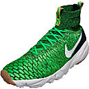 Nike Air Footscape Flyknit Magista - Poison Green & University Red