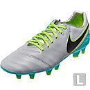 Nike Tiempo Legacy II FG Soccer Cleats - Wolf Grey & Clear Jade