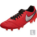 Nike Tiempo Legacy II FG - Light Crimson & Metallic Silver