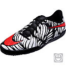 Nike Kids Hypervenom Phelon II Indoor Shoes - Neymar Jr - Black & Bright Crimson